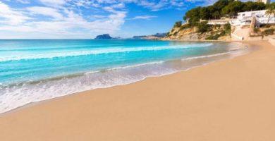 Las playas de Moraira