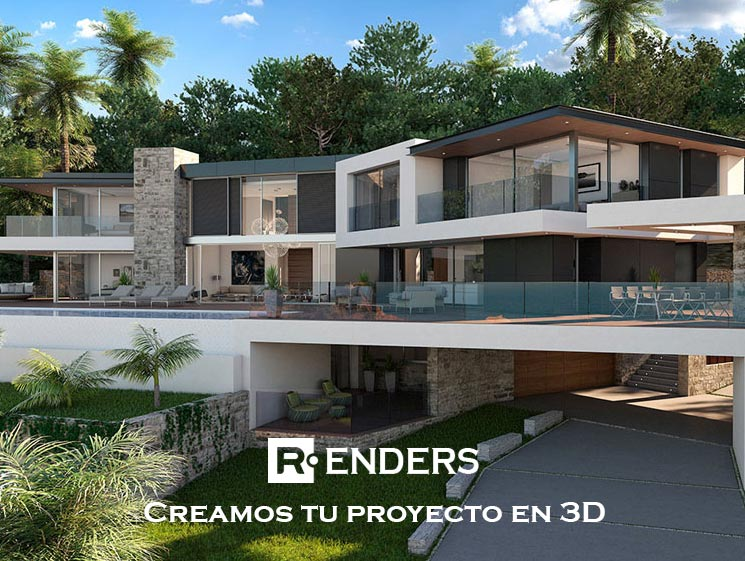 Renders Arquitectura 3D